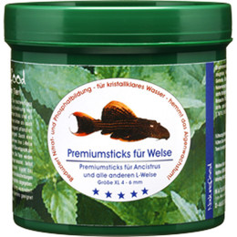 Naturefood PREMIUM STICKS FÜR WELSE 280 gr.
